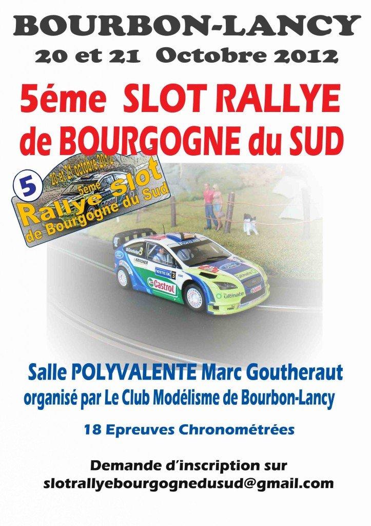 5eme Slot Rallye de Bourgogne du Sud dans Rallye Slot de Bourgogne du Sud 2012afficherallye-723x1024