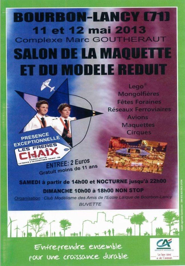 Salon de la Maquette et du Modèle Réduit dans Maquettes affiche_salon