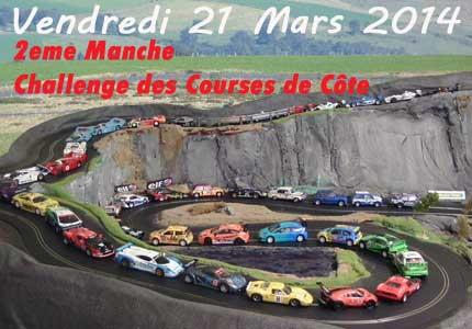 2eme Manche Challenge des Courses de Cote Club Modélisme Bourbon-Lancy