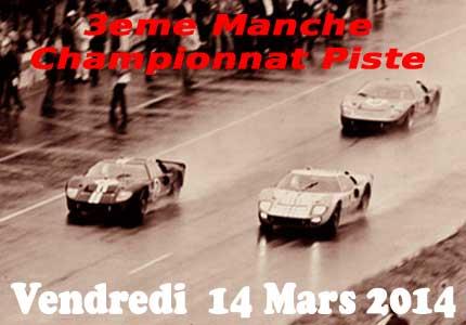Club Modelisme Bourbon-Lancy - Championnat Piste 2014