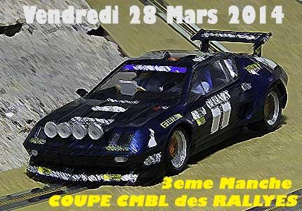 3eme Manche - Coupe CMBL des Rallyes au Club Modélisme Bourbon-LAncy