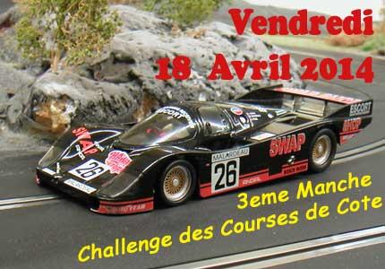 3eme manche Challenge courses de cote 2014 - club modélisme bourbon-lancy