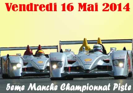 5eme manche Championnat Piste - Bourbon-Lancy